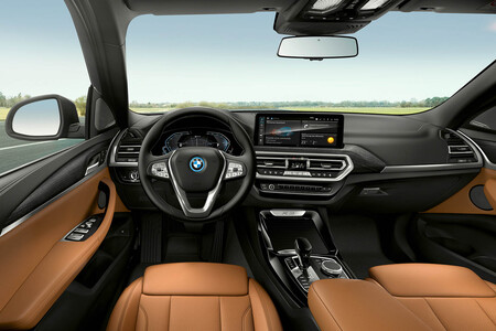 BMW X3 2022 interior