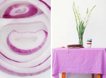 Hazlo tú mismo: tiñe tus telas blancas con vegetales