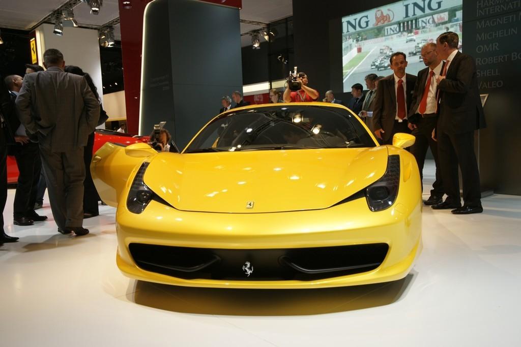 Foto de Ferrari 458 Italia en el Salón de Fráncfort 2009 (4/5)