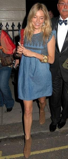 Duelo de estilos: vestido Isabel Marant ¿Sienna Miller o Jessica Alba?