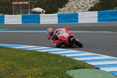 Nicky Hayden también hace tests en Jerez