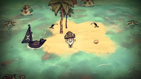 Desearás no ser un náufrago con la expansión Don't Starve: Shipwrecked