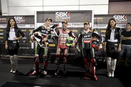 Superbikes Catar 2014: Davide Giugliano y Jules Cluzel se hacen con las últimas poles