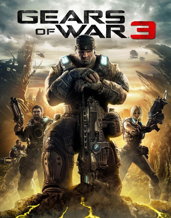 Gears of War 3 cover