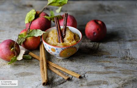 Compota de manzana al bourbon