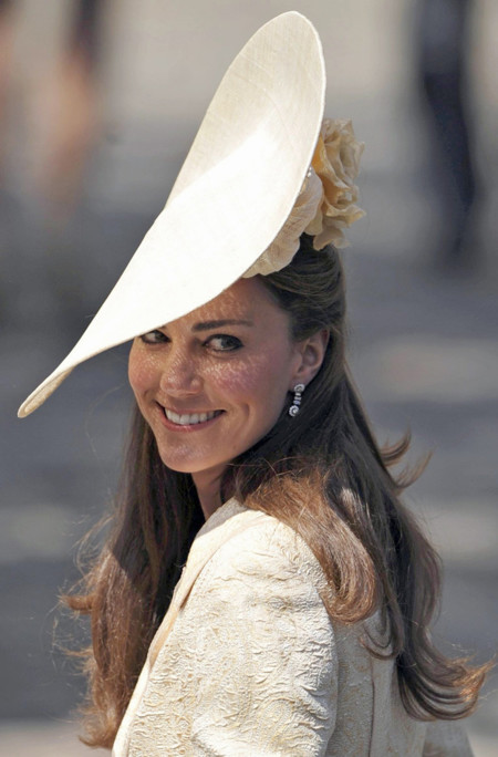 Kate Middleton pamela look