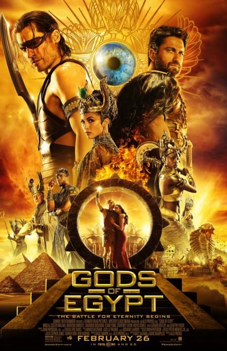 Póster final de Dioses de Egipto