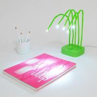 Fresh Lamp: una lámpara de mesa muy primaveral