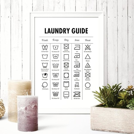 Estos son los símbolos de lavado en prendas de ropa que debemos conocer