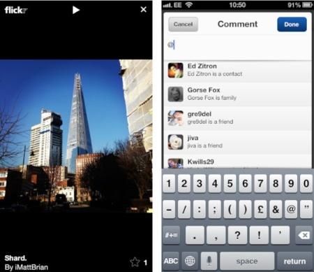 Flickr sigue recuperando el terreno con una nueva actualización de su aplicación para iOS
