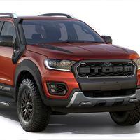 Este Ford Ranger Storm es el hermano pequeño del Ranger Raptor y está pensado para América