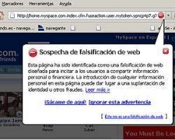 Myspace sufre numerosos ataques de phishing