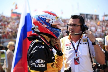 ¿Vitaly Petrov con destino Lotus?