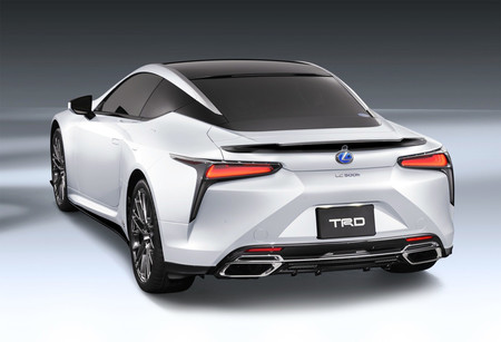 El Lexus LC ya está disponible con chucherías TRD en Japón