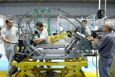 Fabricación del Twizy en la planta de Valladolid