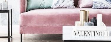 Siete sofás rosas para sumarte a la tendencia que triunfa en las casas de las bloggers