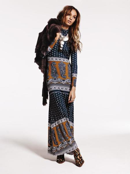 vestido free people joan smalls