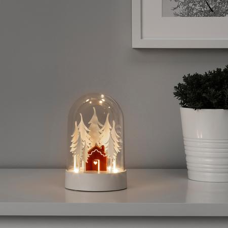 Adorno de mesa con luz Ikea