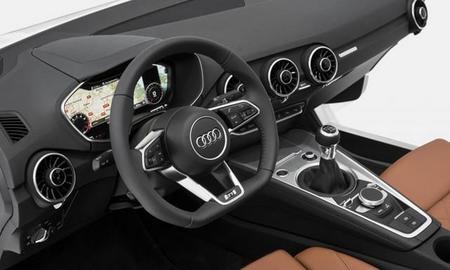 El interior del Audi TT 2015