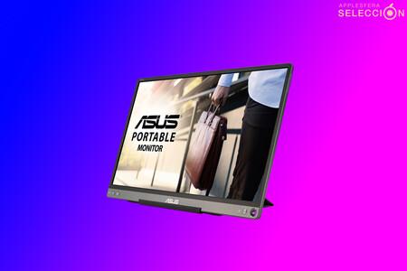 """El monitor portátil ASUS ZenScreen de 15,6"""" Full HD permite trabajar cómodamente desde cualquier parte por 174,99 euros en Amazon"""