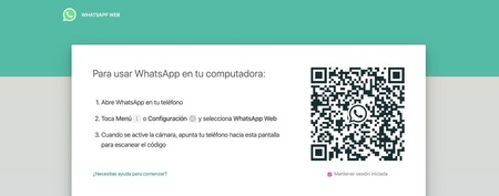 WhatsApp Web ordenador