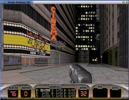 Duke Nukem 3D para Linux