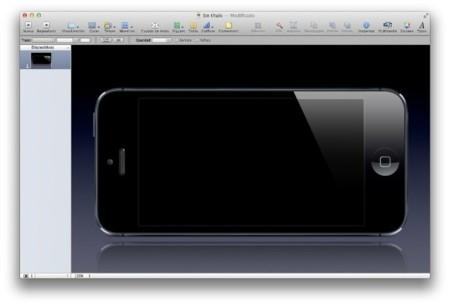Plantilla de Keynote para crear presentaciones de tus apps para iOS