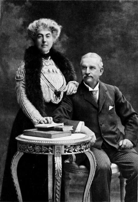 William H And Fanny B Workman Portrait