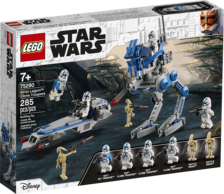LEGO Kit de construcción Star Wars 75280 Clon Troopers de la Legión 501
