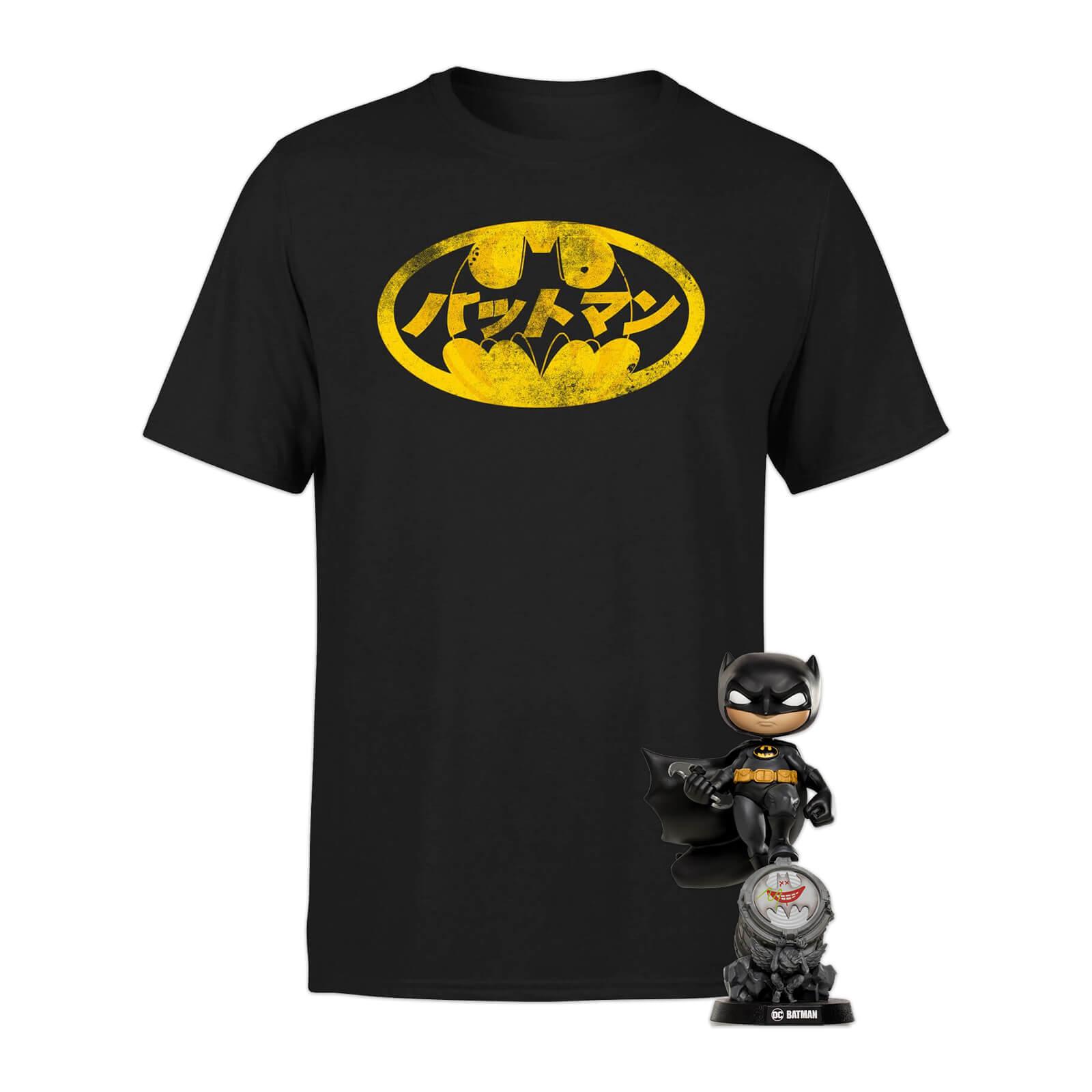 Pack Batman: Camiseta + Figura Iron Studios MiniCo