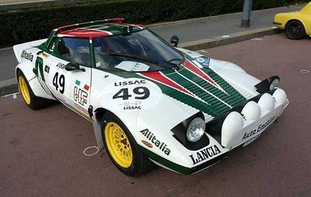 Lancia Stratos HF, construido para ganar