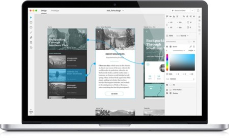 Adobe Comet, más cerca de la solución de prototipado de apps de Adobe