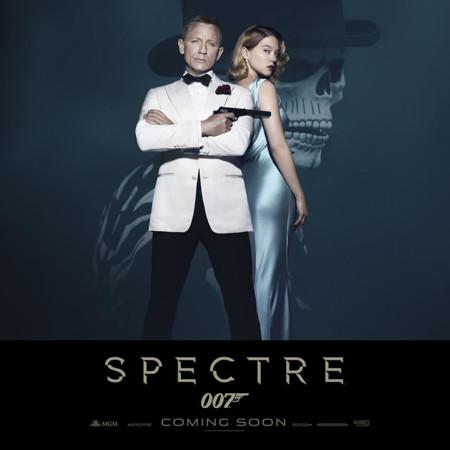 Nuevo poster de Spectre con Daniel Craig y Lea Seydoux