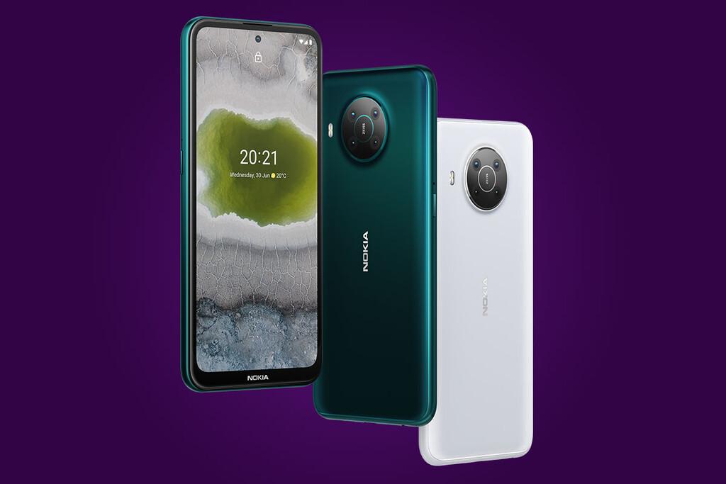Nokia X10 y Nokia™ X20: los mas ambiciosos de Nokia™ son 2 celulares 5G con Android™ One y cámara cuádruple