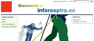 Inforespira, nueva web para pacientes con problemas respiratorios