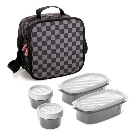 Vuelta al curro 2018: bolsa térmica con fiambreras incluidas Tatay Urban Food Chess por 14,46 euros en Amazon