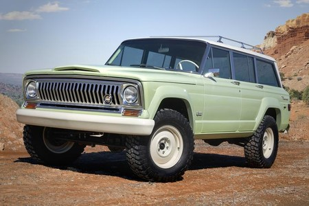 Jeep R Wagoneer Roadtrip Concept