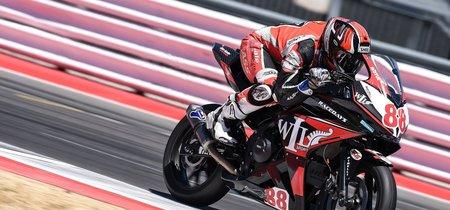 Mika Pérez triunfa en Misano y aprieta la clasificación de Supersport 300