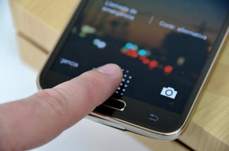 Escaner Huellas Galaxy S5