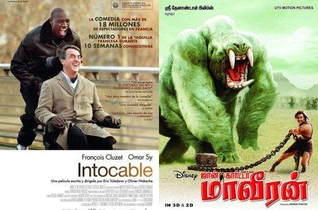 Taquilla española | 'Intocable' escala a la cima ante la debilidad de los estrenos