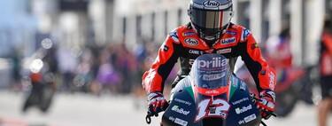 ¡Tremendo! Maverick Viñales ha liderado el primer entrenamiento libre de MotoGP en Misano con la Aprilia