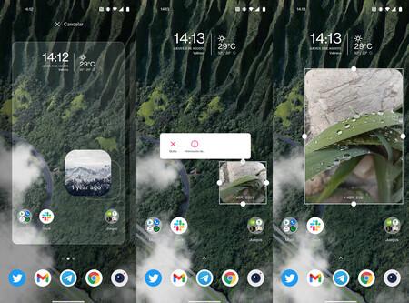 Widget Google Fotos
