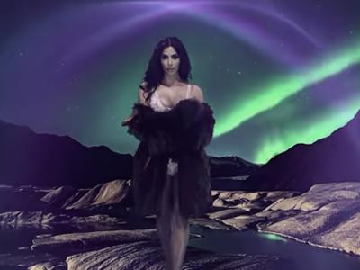 El lado más sensual de Kim Kardashian, dirigido por James Lima, en un calendario de lo más inesperado