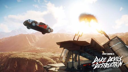Just Cause 4 llevará el caos a la carretera a finales de abril con Destructores Temerarios, su primer DLC
