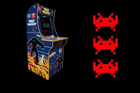 """Esta máquina Arcade de Space Invaders es un chollo: con pantalla LED de 17"""" y joystick a menos de 200 euros en El Corte Inglés"""