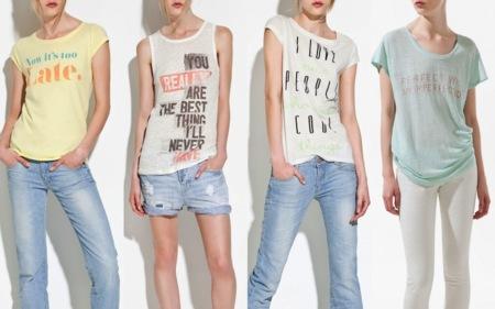 Zara camisetas