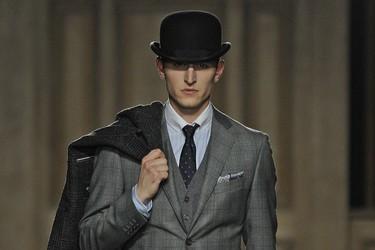 London Collections: Hackett London y su elegancia dan el pistoletazo de salida a las próximas tendencias otoñales