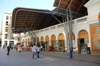 Visita al mercado modernista de Santa Caterina de Barcelona