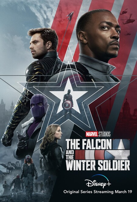 Póster Falcon Winter Soldier