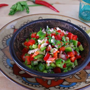Ensalada crujiente marroquí: receta sin cocción en 10 minutos